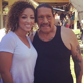 Brooke Ivory and Danny Trejo