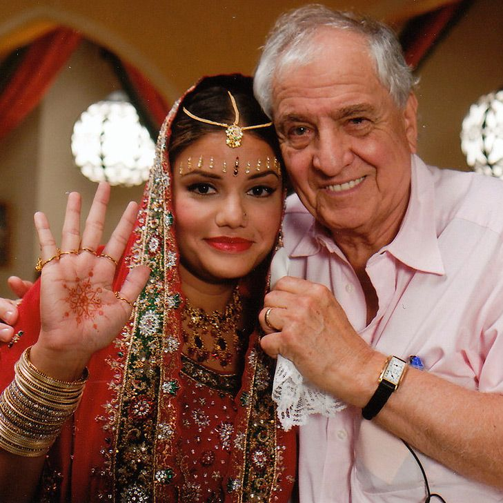 Natalie Machado and Garry Marshall