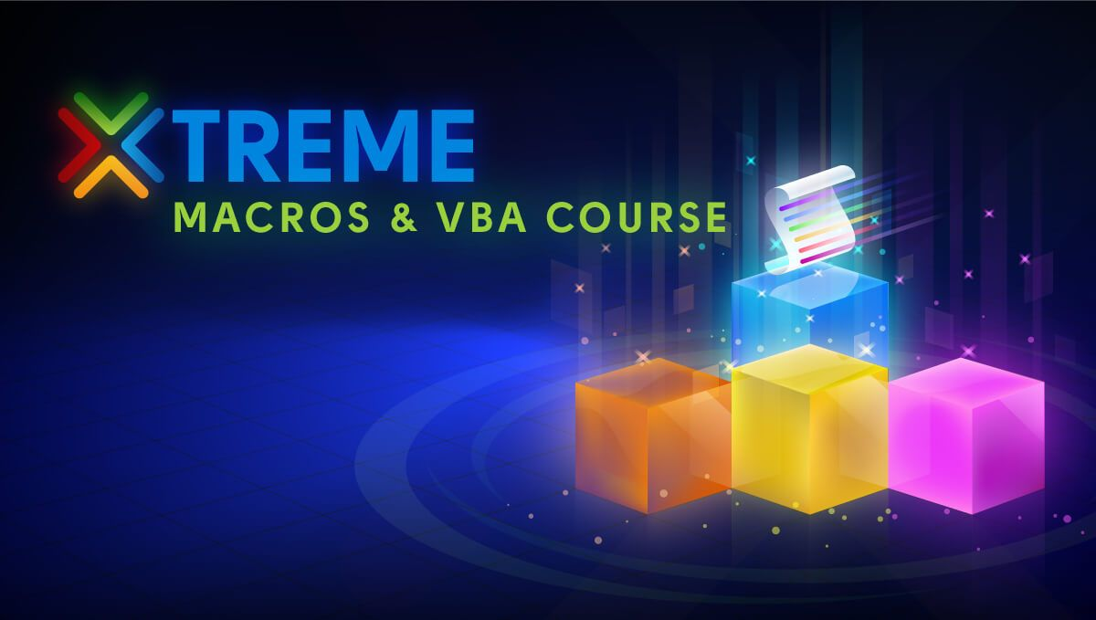 The Xtreme Excel Macros VBA Online Course MyExcelOnline - How to create a invoice in excel online lighting stores