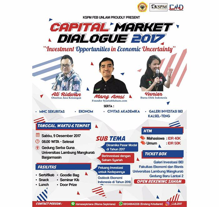 Capital Market Dialogue 2017