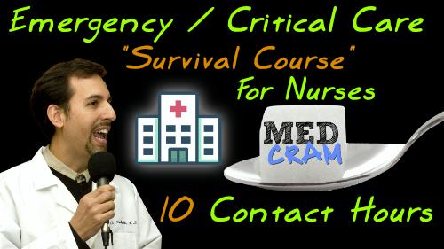 Emergency Medicine Critical Care Continuing Education Nurses